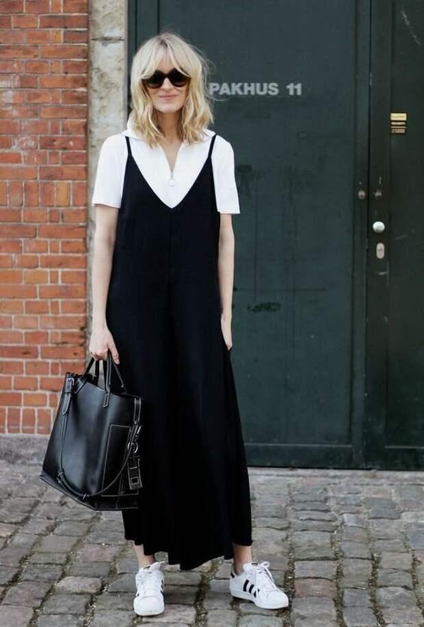 Платье-комбинация для женщин элегантного возраста, как и с чем носить