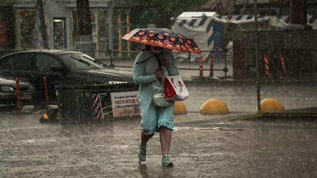 Сильнейший ливень за 73 года прогнозируют в Москве в понедельник