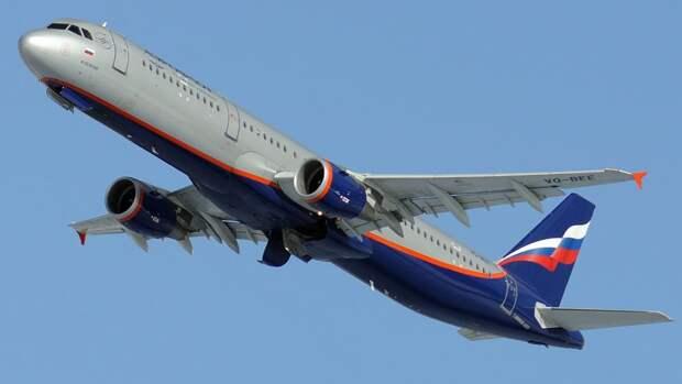 Индикатор неисправности сработал на летевшем в Москву Airbus 321