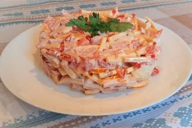 Готовим салат «Голландский»