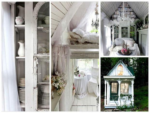 Даже совсем крошечный дом можно превратить в стильное жилье. | Фото: remontdizajn.ru.