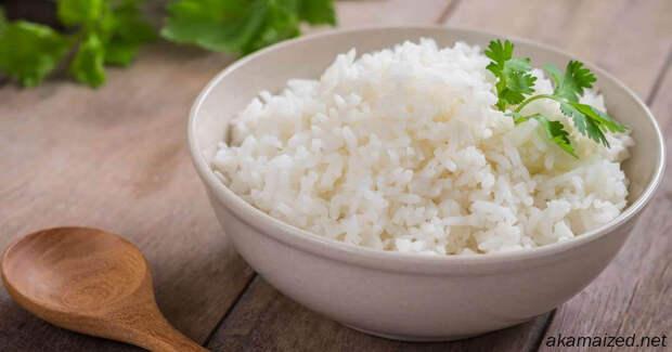 Ешьте больше риса и худейте, советуют ученые