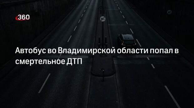 МВД: автобус и грузовик столкнулись во Владимирской области, четыре человека погибли