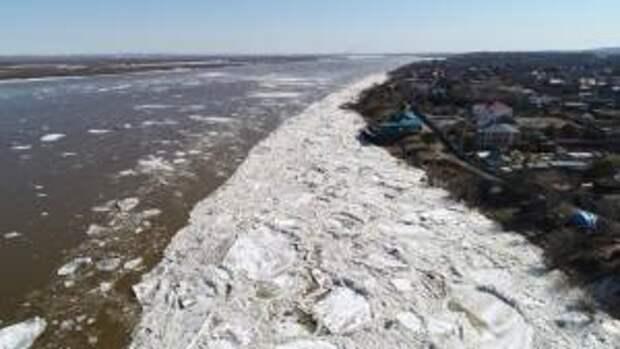 Уровень воды в Амуре у Хабаровска начал постепенно снижаться