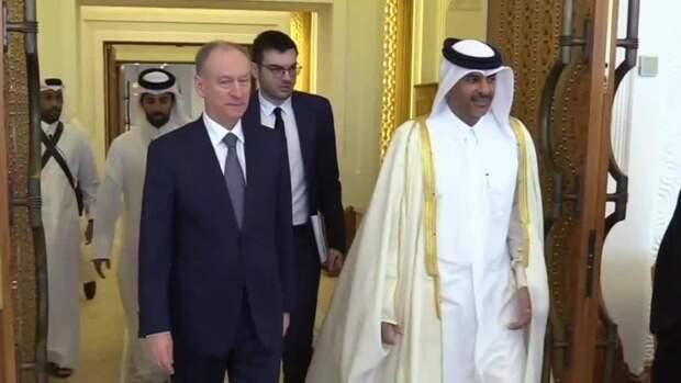 Экономическое сотрудничество обсудил Патрушев сэмиром Катара