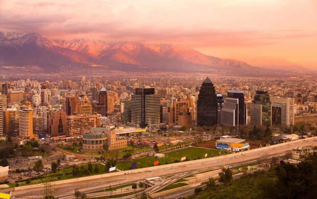 NewPix. ru - Сантьяго самый необычный город на земле