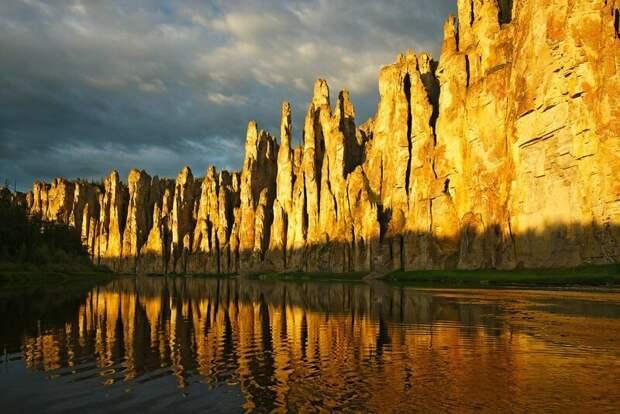 Ленские столбы, Якутия, Россия завораживающе, земля, интересное, красота, пейзажи, природа, фотомир