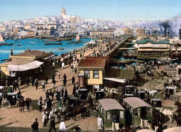 Цветные открытки Константинополя 2