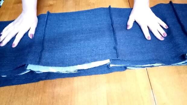 Как легко сделать лоскутное покрывало из драпа и тюля