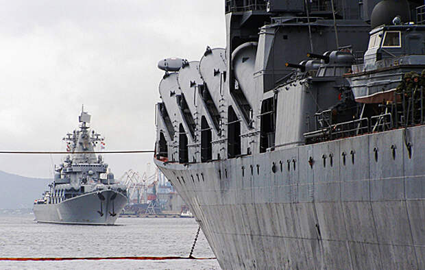 В масштабных учениях задействовали более 40 судов Черноморского флота