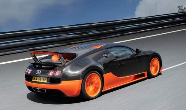 Топ 5 самых быстрых спорткаров в мире.