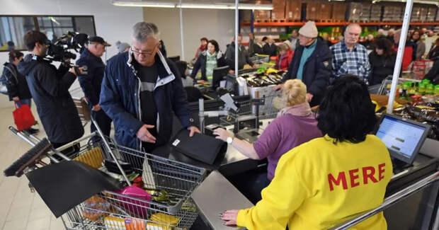 СНБО сорвал «операцию российских спецслужб» по открытию сети супермаркетов Mere на Украине