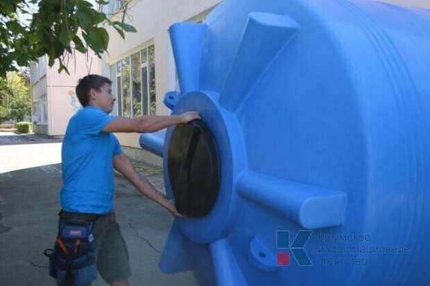 Детские сады в Симферополе оснащают автономными системами водоснабжения