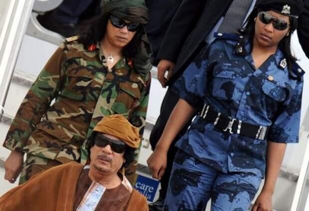 Амазонки Муаммара Каддафи: зачем полковник доверился женщинам?