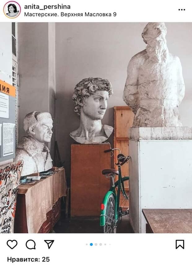 Фото дня: скульптуры Масловки