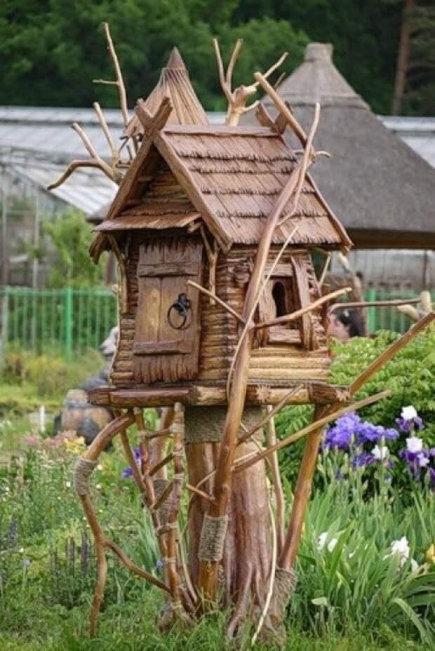 Забавные скульптуры для сада: веселые идеи для вдохновения 4