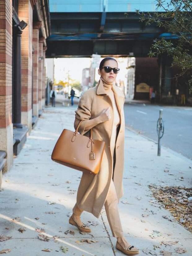 Бежевый монохром – стильное решение для любого времени года. /Фото: bittersweetcolours.com