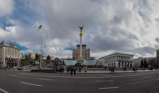 Газовая зрада на день независимости Украины