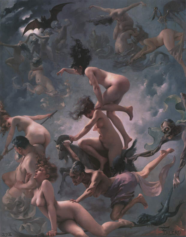 Магия, наркотики и интим: Как возник традиционный образ «ведьмы на метле»