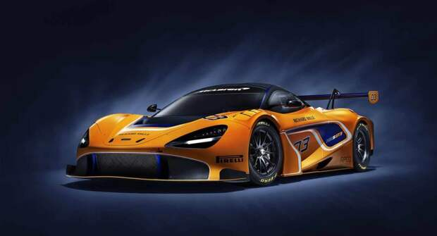 McLaren GT снова станет автомобилем безопасности британского чемпионата GT