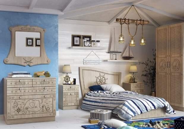 Дизайн комнаты для мальчика-подростка в современном стиле (60 фото)
