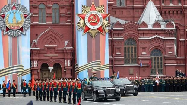 Жители России отмечают День Победы в смешанном формате