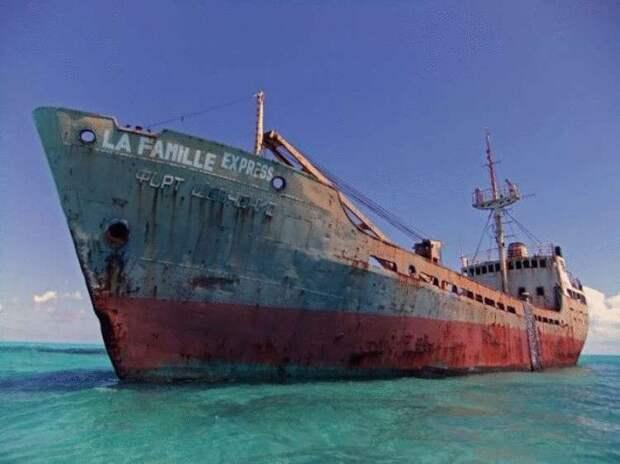 25 брошенных кораблей со всего мира