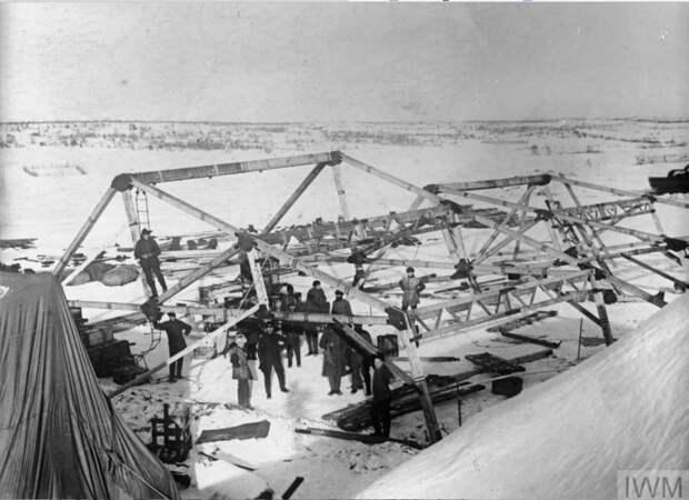1919 год. Британская интервенция на севере России.