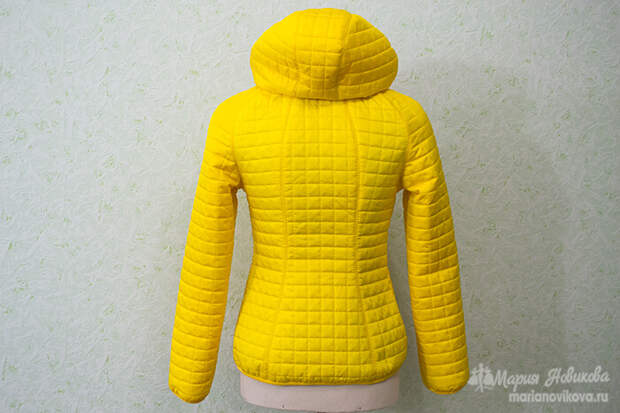 Стёганая куртка своими руками