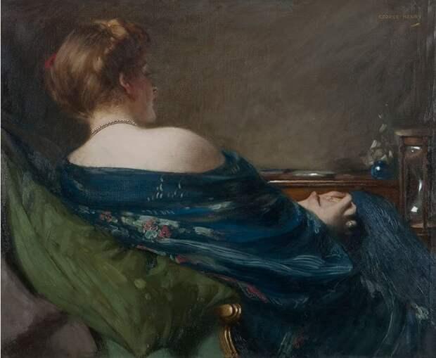 Художник Джордж Генри (George Henry, 1858-1943)