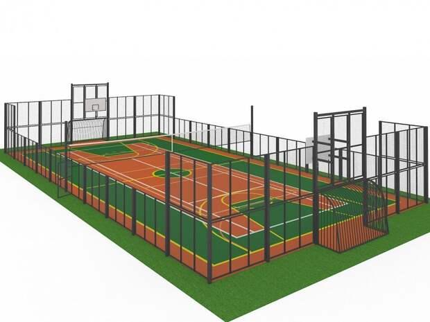 Спортивной площадке в Ачинском районе быть