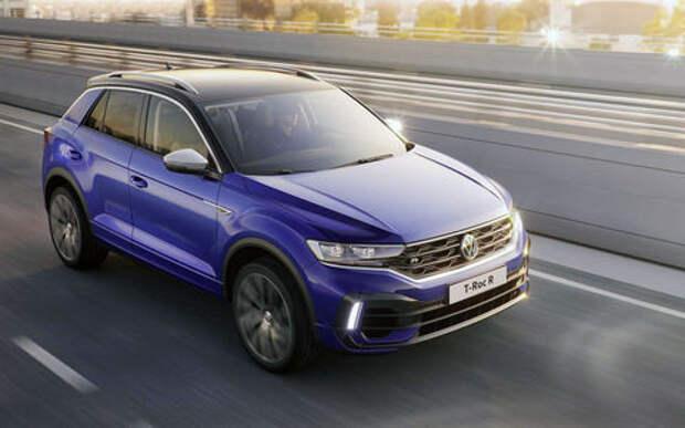 VW выпустил 300-сильный T-Roc R