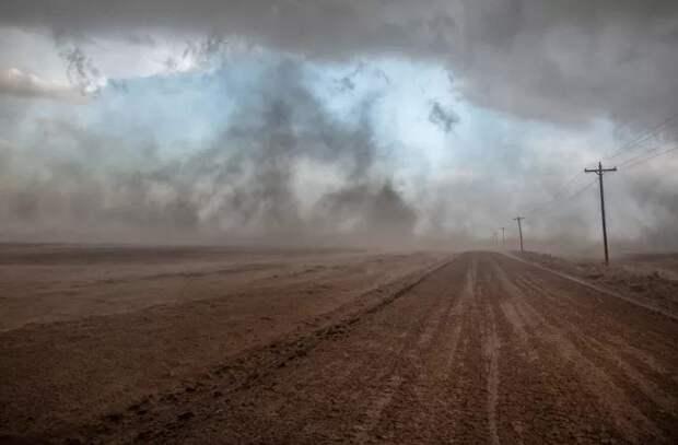 В Молдове все чаще отмечаются пылевые бури