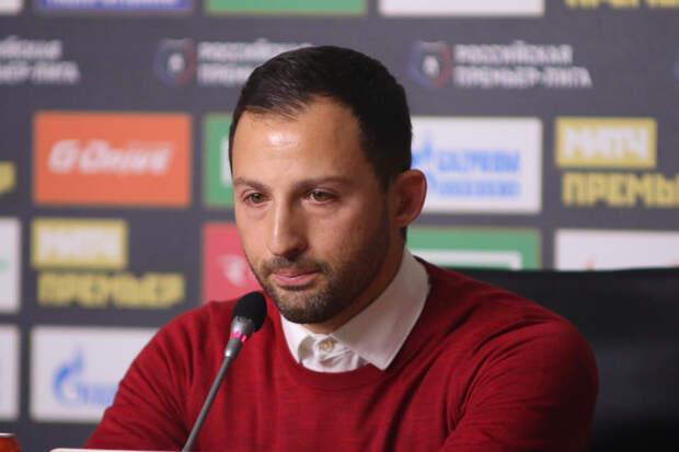 Тедеско прокомментировал победу «Спартака» над «Химками»