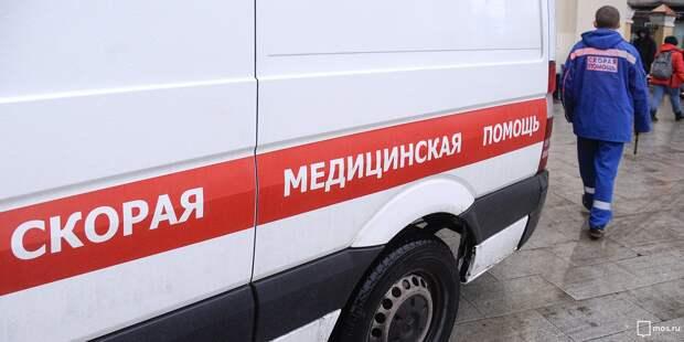 На Алтуфьевском шоссе из-за нарушения очередности проезда столкнулись две иномарки