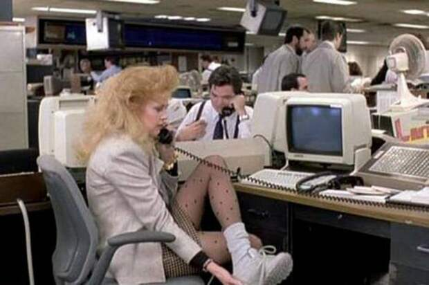 Кадр из фильма «Деловая женщина». \ Фото: el.ozonweb.com.