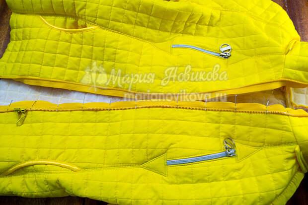 Как сделать молнию на куртке