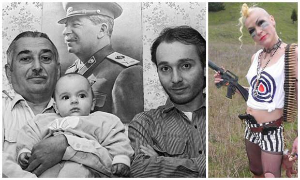 В 2016 году умер внук Сталина Евгений Джугашвили, по линии сына Сталина Василия, оставив после себя правнука Виссариона Евгеньевича и Якова Евгеньевича, а также праправнука Иосифа. В США проживает и внучка Сталина по линии его дочери Светланы - Крис внуки, генсеки, дети, известные личности, потомки