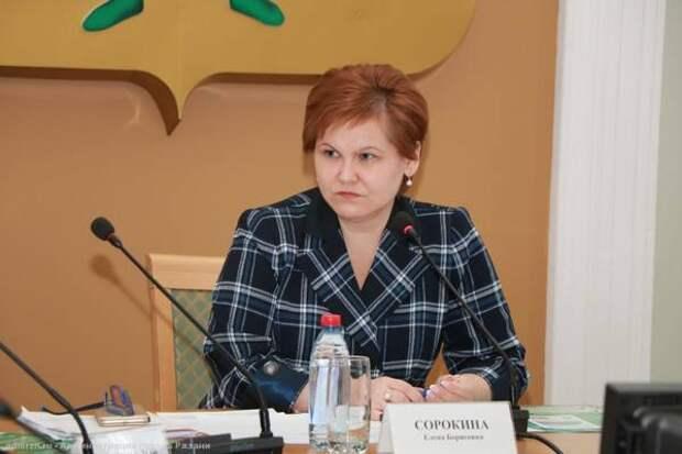 Елена Сорокина раскритиковала подрядчика благоустройства Наташкиного парка в Рязани