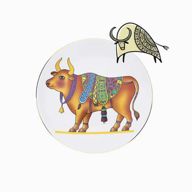 Ювелирные украшения и сувениры с символом 2021 года – Быком