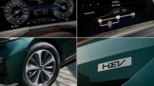 Новый гибридный Kia K8 HEV