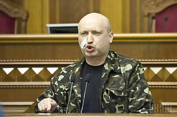 Турчинов в эфире ТВ выдал украинскую военную тайну