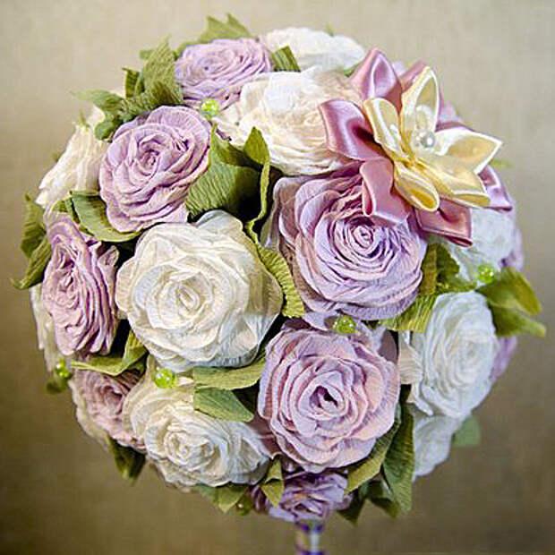 как сделать топиарий с розами. Мастер-классы