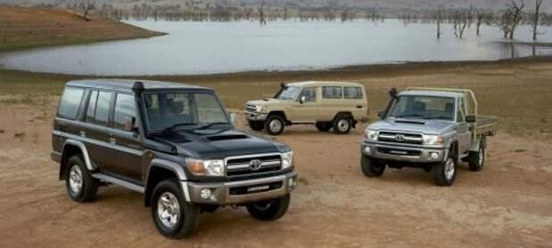 3) 70-й серия Toyota Land Cruiser авто, история, факты
