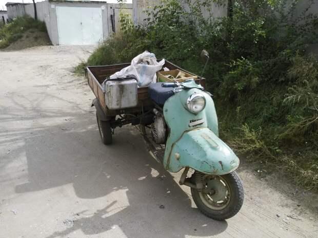 Трицикл «Шмель» - внук «Муравья». Показываю, из чего он сделан и сколько стоит