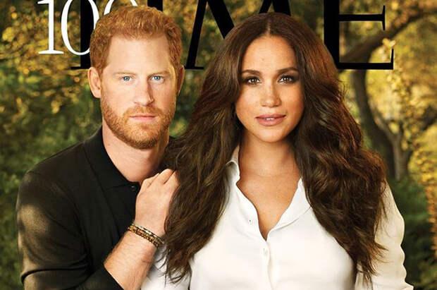 Принц Гарри и Меган Маркл на страницах Time: они вошли в список 100 самых влиятельных людей года