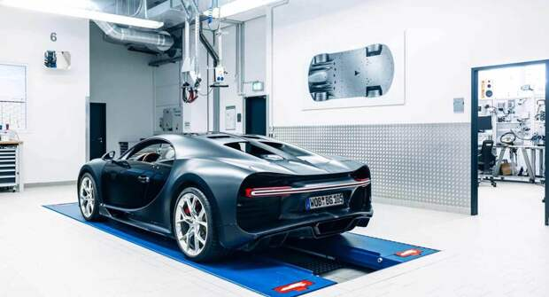 Bugatti избавится от самого первого Chiron