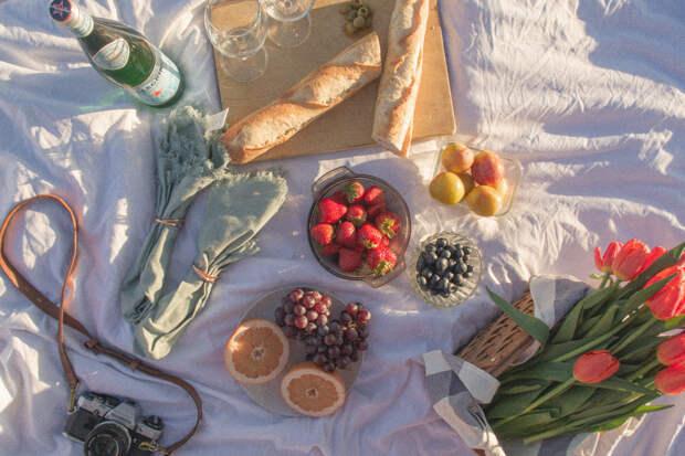 Отправляемся на пикник: как собрать полезную корзину