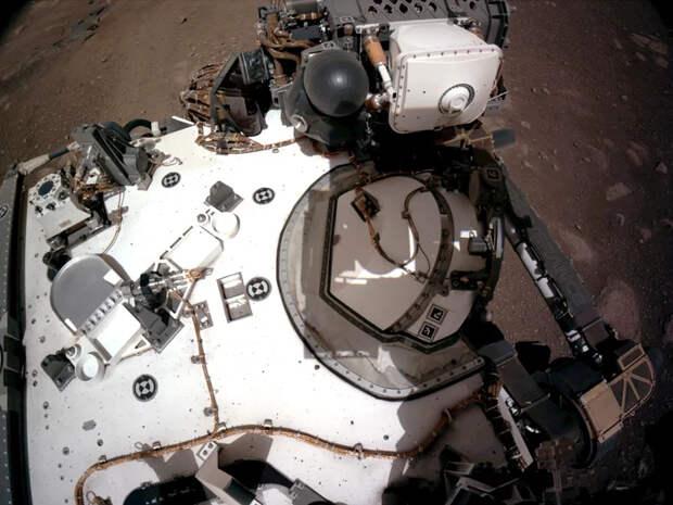 Будоражащие кадры с исторической посадки новейшего марсохода NASA NASA, Perseverance, Марс, Марсоход, Космонавтика, Космос, Планета, Исследования, Технологии, США, Исторический момент, Длиннопост