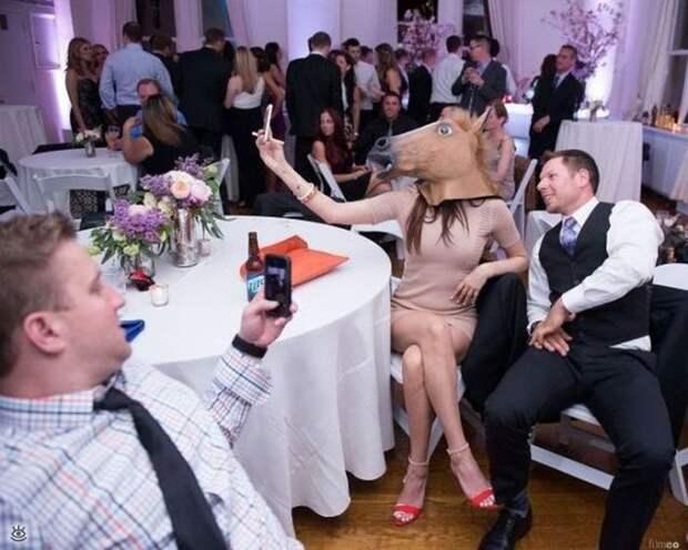 Прикольные свадебные торжества 3